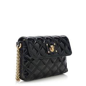 Marc Jacobs patent leather single chain bag